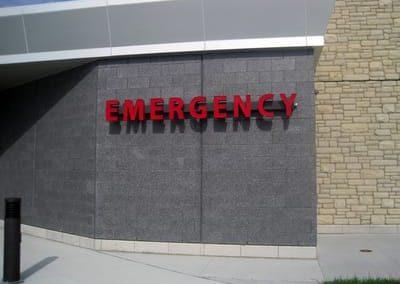 Illuminated Letters Hospital