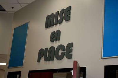 Letters Dimensional Mise En Place