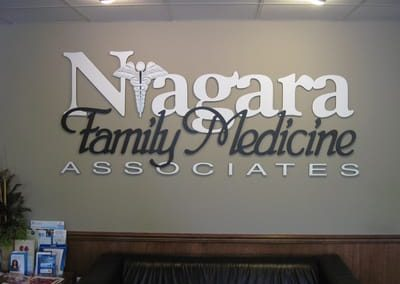 Letters Dimensional Niagara Family Medicine