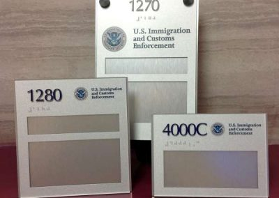 ADA Room Signs- US Immigration and Customs Enforcement
