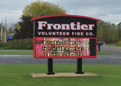 LED Message Centers-Frontier Fire Co