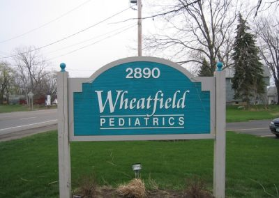 Post and Panel Wheatfield Pediatrics