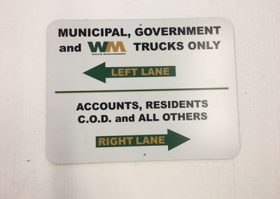 Traffic Wayfinding Waste Management