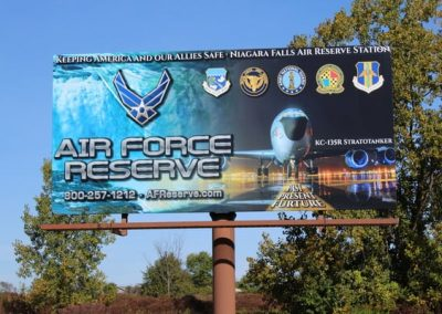 Billboard Air force