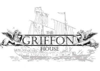 Custom Flag Griffon House