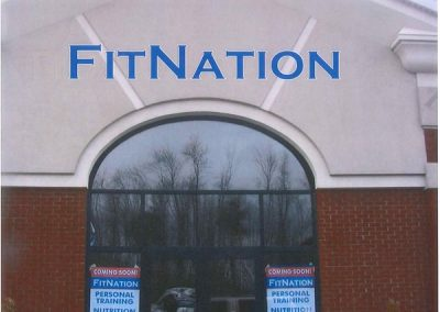 Exterior Letters Fit Nation