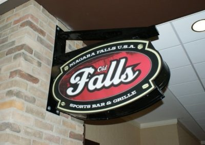 Falls Sports Bar and Grille 	Corporate Branding