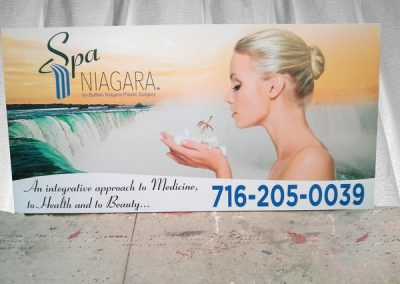 Exterior Digitally Printed Spa Niagara