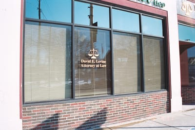 Window Graphics David E. Levine Attorney at Law