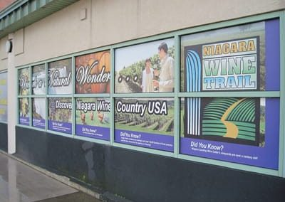 Window Decals and Graphics Niagara Falls USA