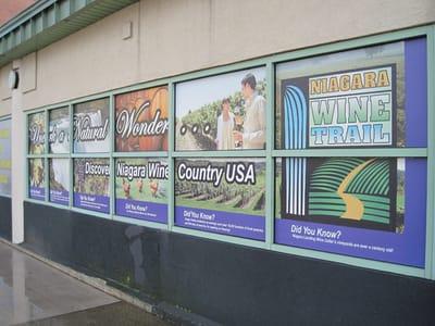 Window Decals and Graphics Niagara Falls USA