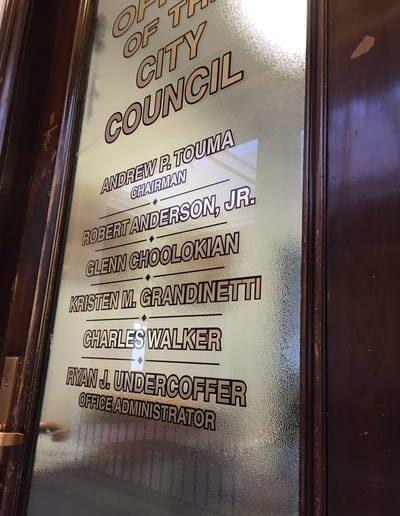 Window Graphics Niagara Falls City Council