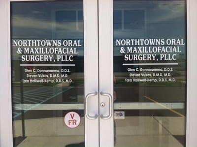 Window Vinyl Graphics Northtowns Oral and Maxillofacial Surgery
