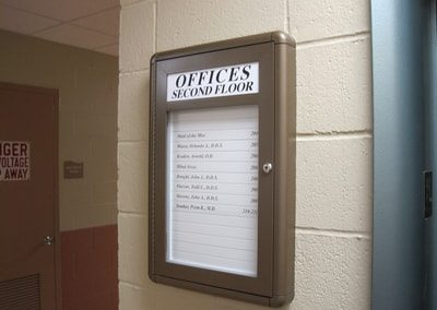 Office Directory Sign