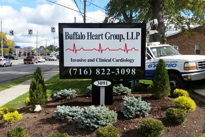 Exterior Illuminated Buffalo Heart Group