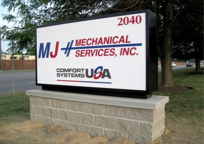 Exterior Illuminated Mechanical Services Inc.