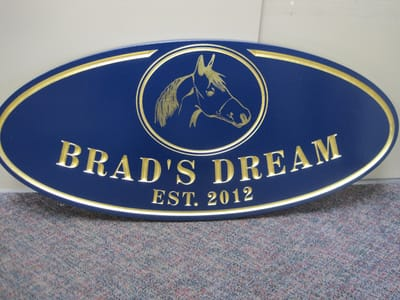 Carved Plaques Brad's Dream