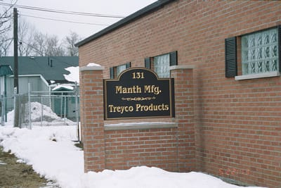 Exterior Non Illuminated Monument Manth Manufacturing Treyco Products