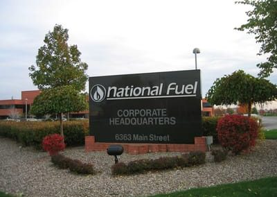 Exterior Non Illuminated National Fuel