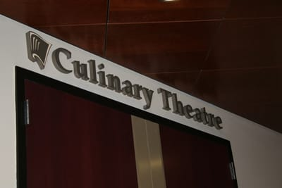 Letters Dimensional Culinary Theatre