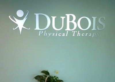 Letters Dimensional DuBois Physical Therapy