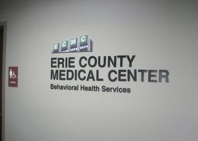 Letters Dimensional Erie County Medical Center