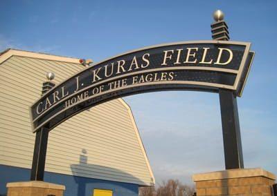 Letters Dimensional Carl J. Kuras Field