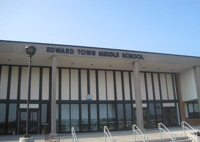 Letters Dimensional Edward Town Middle School NYS WBE Sign Company Schools Niagara Wheatfield