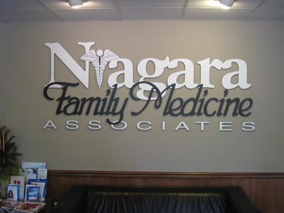 Letters Dimensional Niagara Family Medicine