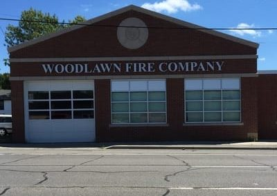 Letters Dimensional Woodlawn Fire Company