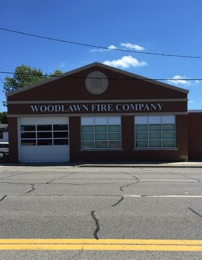 Letters Dimensional Woodlawn Fire Company Sign