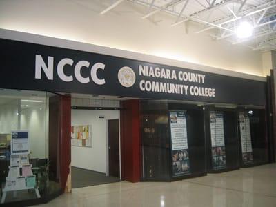 Letters Dimensional Niagara County Community College Education NYS WBE Sign Company Buffalo Niagara