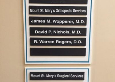 Directory-Mount St. Mary's Hospital