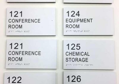 ADA Room Signs-ECC STEM NANOTECH