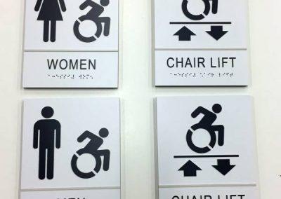ADA Wayfinding Room Signs-ECC STEM NANOTECH