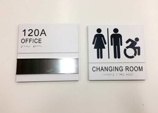 ECC STEM NANOTECH Office Signs Acrylic ADA Signs Room Signs Rest Room Signs Interior Signs ADA and Wayfinding