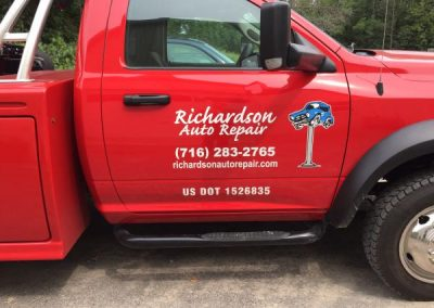 Vehicle Graphics-Richardson Auto