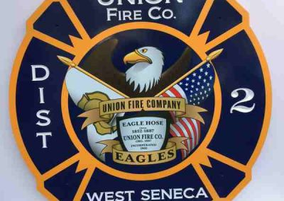 Carved Signs-West Seneca Fire HDU-Exterior