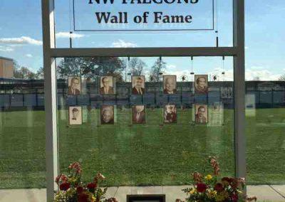 iagara Wheatfield Acrylic Digitally Printed Dedication Plaque Nova Displays Interior Signs Displays Sanborn, New York Niagara County, NY Education High School