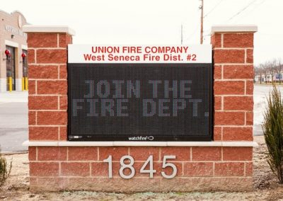 LED Message Center West Seneca Fire EMC