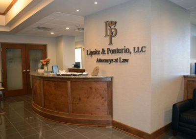 Lipsitz Acrylic Dimensional Letter acrylic letters coporate logo Interior Signs Corporate Branding Dimensional Letters Buffalo, New York Erie County, NY Organization Law Firm