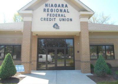 Niagara Regional Credit Plastic Dimensional Letter plastic letters Gemini Inc. Exterior Signs Non Illuminated Signs Dimensional Letters Niagara County, NY Businesses Banking