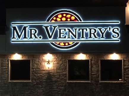 Illuminated Halo Letters Niagara Falls Culinary Institute Niagara County Erie County Sign Company NYS WBE Appleton Barker Burt Gasport Lewiston Lockport Middleport Newfane Niagara Falls North Tonawanda Olcott Ransomville Sanborn Wilson New York State WBE