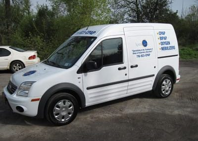 Vehicle Wraps Apnea Care
