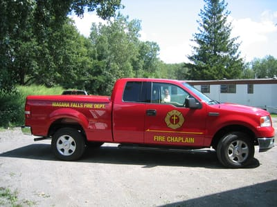 Vehicle Wraps Niagara Falls Fire Department