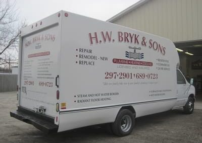 Vehicle Wraps H.W. Bryk and Sons