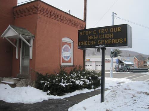 LED Message Center Restaurant Pole Sign Buffalo Niagara Sign Company