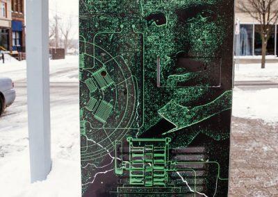Graffiti Proof-City of Niagara Falls Tesla