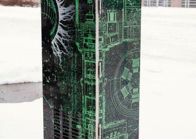 Graffiti Proof  City of Niagara Falls Tesla