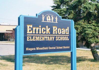Post and Panel Errick Road Elementary School